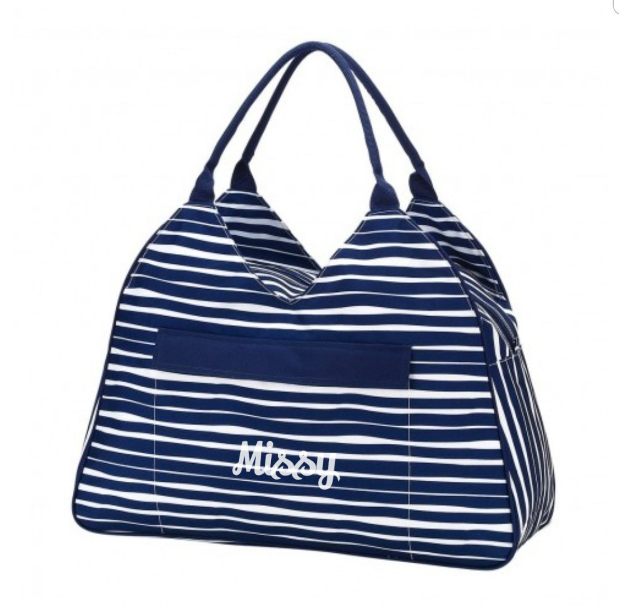 Monogrammed Beach Bag- Choose your style!