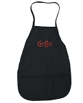 Personalized Child's Black Apron