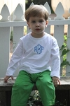 Monogrammed Children's Classic Clothing