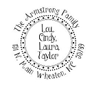 Personalized Family Return Address Stamp