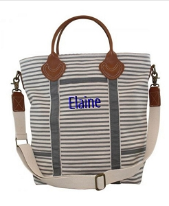 Monogrammed Take Flight Weekend Bag
