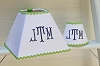 Monogrammed Lampshade and Nightlight Set