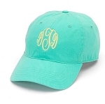 Mint Monogrammed Ball Cap