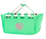 Personalized Mint Market Tote