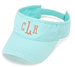 Monogrammed Ladies' Mint Visor