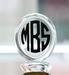 Monogrammed Acrylic Wine Stopper QS