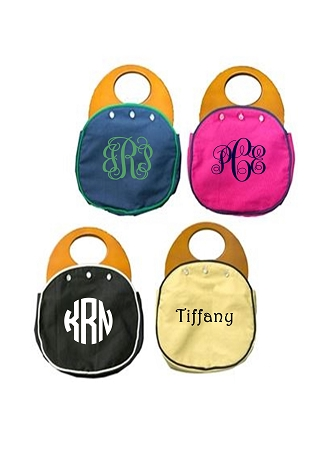 Preppy Monogrammed 3 Button Bermuda Bag Covers