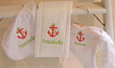 Monogrammed baby gifts the pink gift sets negle Gallery