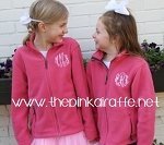 Monogrammed Child's Fleece Jacket