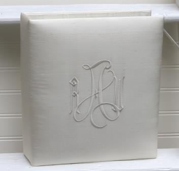 Monogrammed 10.25 x 12 Wedding Photo Album