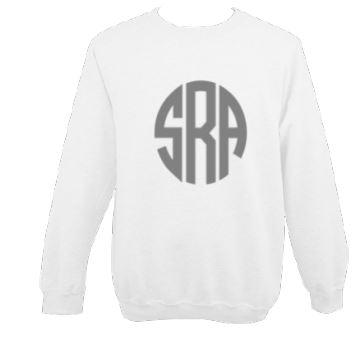 Printed Circle Monogram Sweatshirt