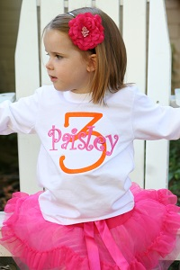 Kids Monogrammed Clothing