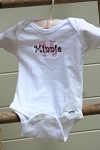 Name With Letter Personalized Onesie