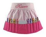 Personalized Pink Crayon Skirt