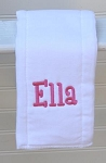 Custom Personalized Burp Cloth