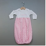 Personalized Snuggle Baby Gown-Pink