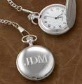 Monogrammed Pocket Watch