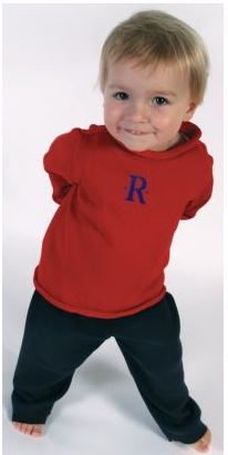 Monogrammed Child's Rollneck Sweater