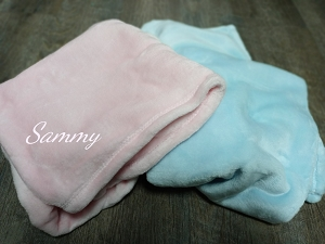 Personalized Mink Touch Baby Blanket