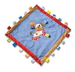 Monogrammed Buddy the Dog Taggie Blanket