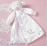 Monogrammed Christening Lamb Lovie