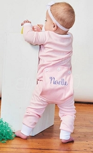 Personalized Pink Ellie O Jammie
