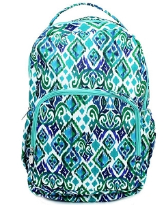 Personalized Mary Square Diamond blue Backpack