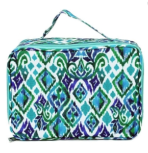 Personalized Mary Square Diamond Blue Child's Lunchbox