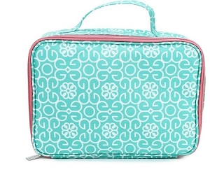 Super cute Mary Square Mint Design lunchbox