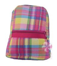 Popsicle Plaid Small Seersucker backpack
