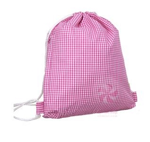Hot pink Gingham Sling bag