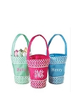 Personalized Vine Embellished Easter Bucket