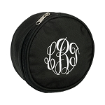 Monogrammed Black  Jewelry Case