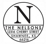 Personalized Return Address Stamp - The Nelson