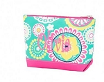 Monogrammed Piper Paisley Cosmetic Bag