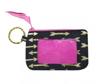 Simply Southern Gold Arrows Keychain Id Holder