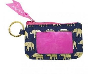Simply Southern Elephant Keychain ID Holder