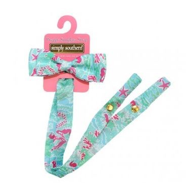 Simply Southern Seaweed Sunglasses Holder with Bow