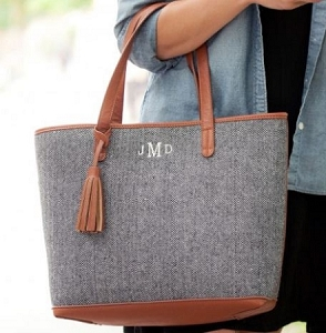 Monogrammed Townsend Tote bag