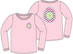 Monogrammed Youth Easter Egg Icon Shirt