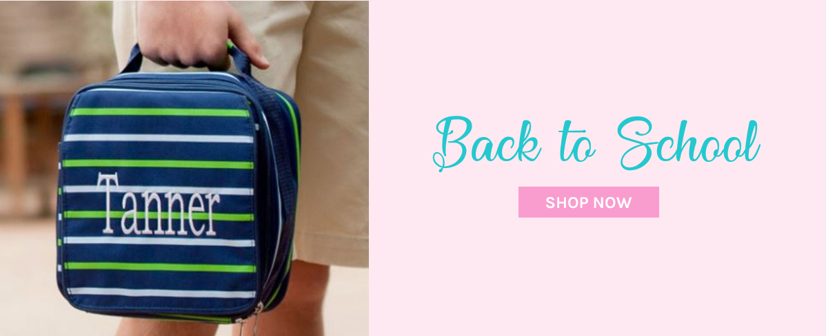 personalized backpacks and luncboxes