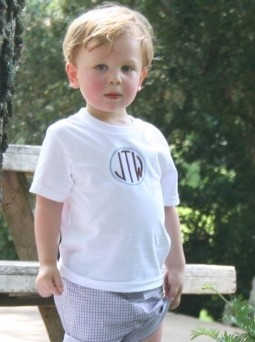 Monogrammed Children's Shirt