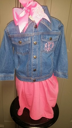 Super Cute Toddler Denim Jacket