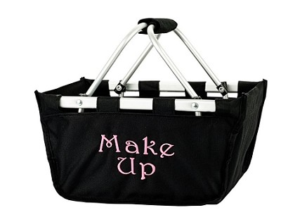 Personalized Mini Market Tote Black