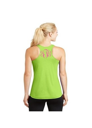 "Monogrammed Ladies' ""Competition"" Activewear Tank"
