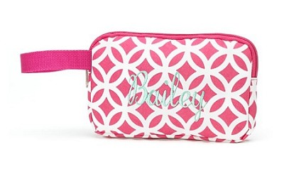 "Personalized Pink ""Sadie"" Pencil Case"