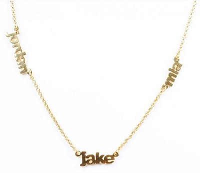 Personalized Multi Name Necklace