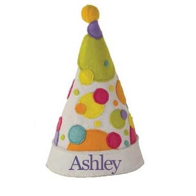 Personalized Child's Birthday Hat