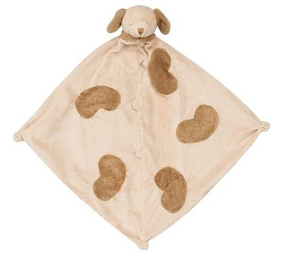 Monogrammed Baby's Lovie Blanket Puppy Dog