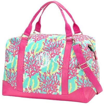 Monogrammed Reef Overnight Bag